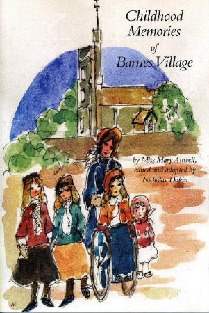 Childhood Memories of Barnes Village front cover