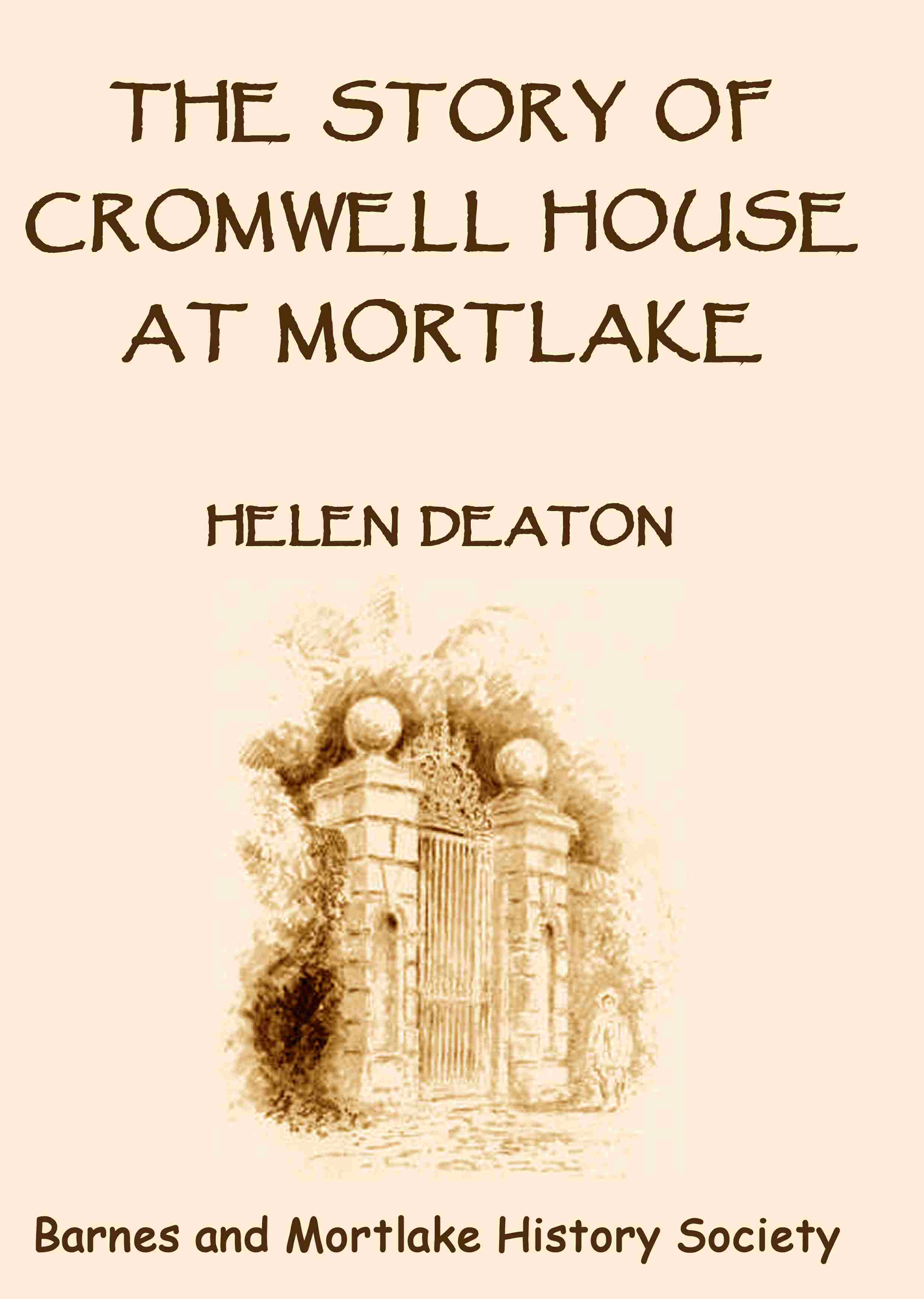 Cromwell House front cover