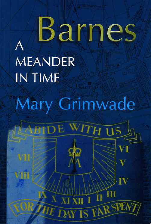 Barnes, a Meander in Time front cover