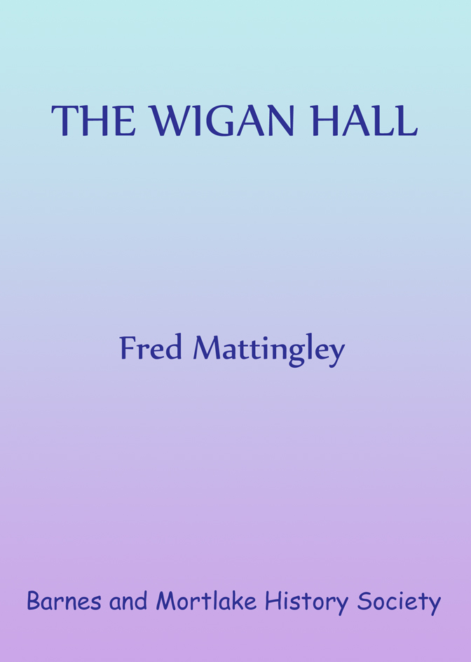 Wigan Hall front cover